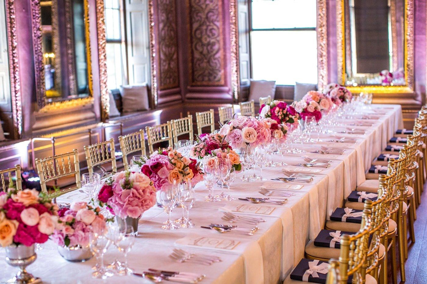 luxury wedding table