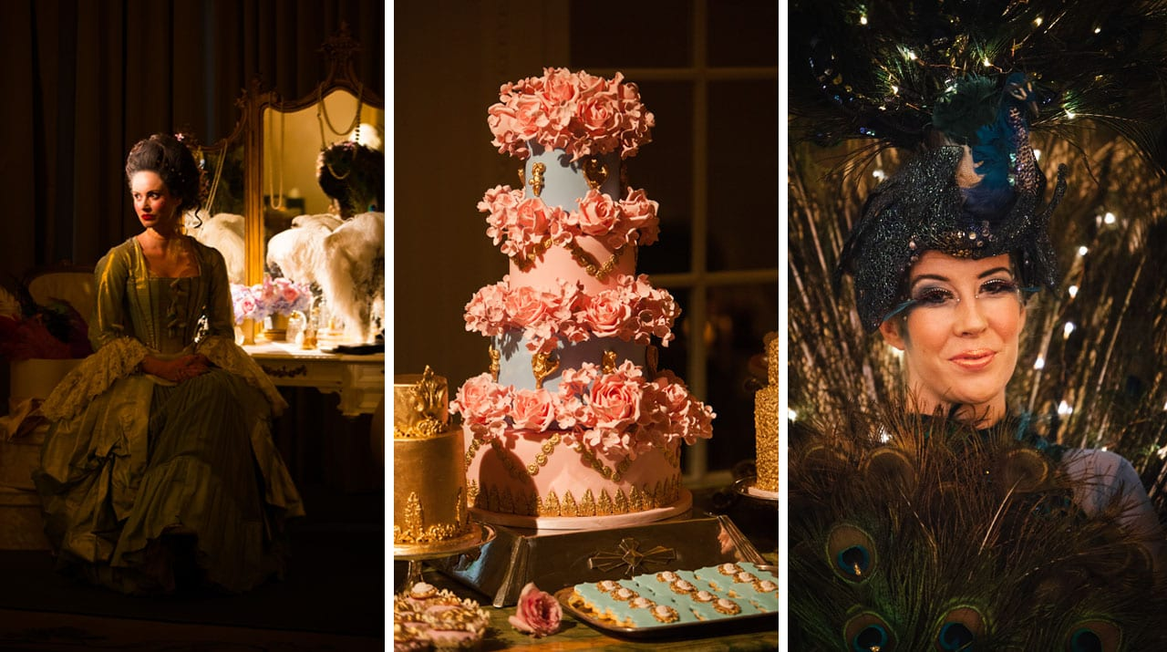 Marie Antoinette Theme Styling