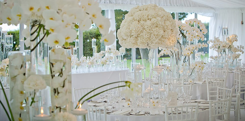 unique luxury jewish wedding flowers