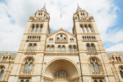 Natural History Museum Weddings | Natural History Museum building facade in a sunny day in London