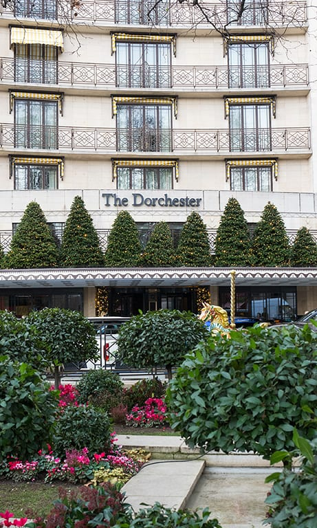 The Dorchester Hotel in London, a top London wedding and private event venue