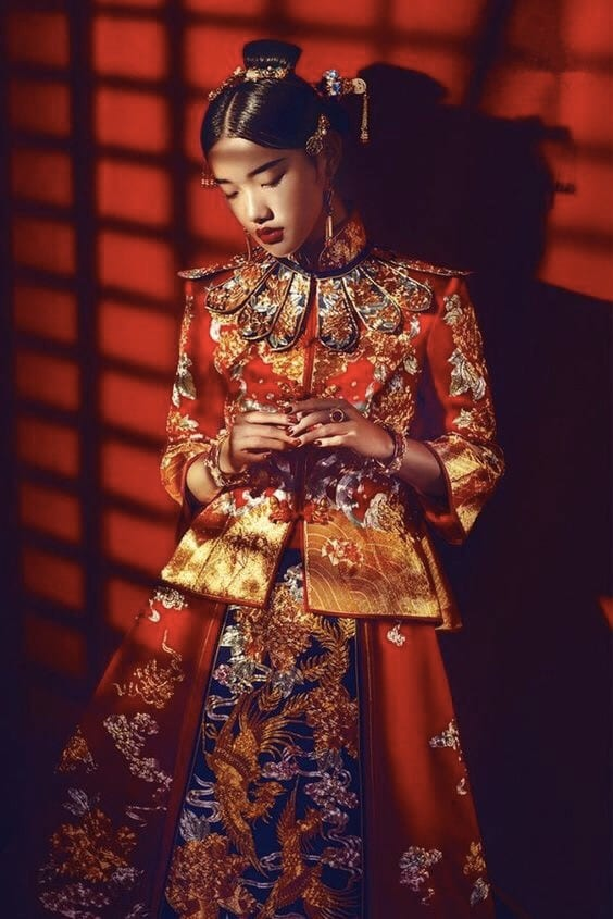 Chinese Wedding Attire