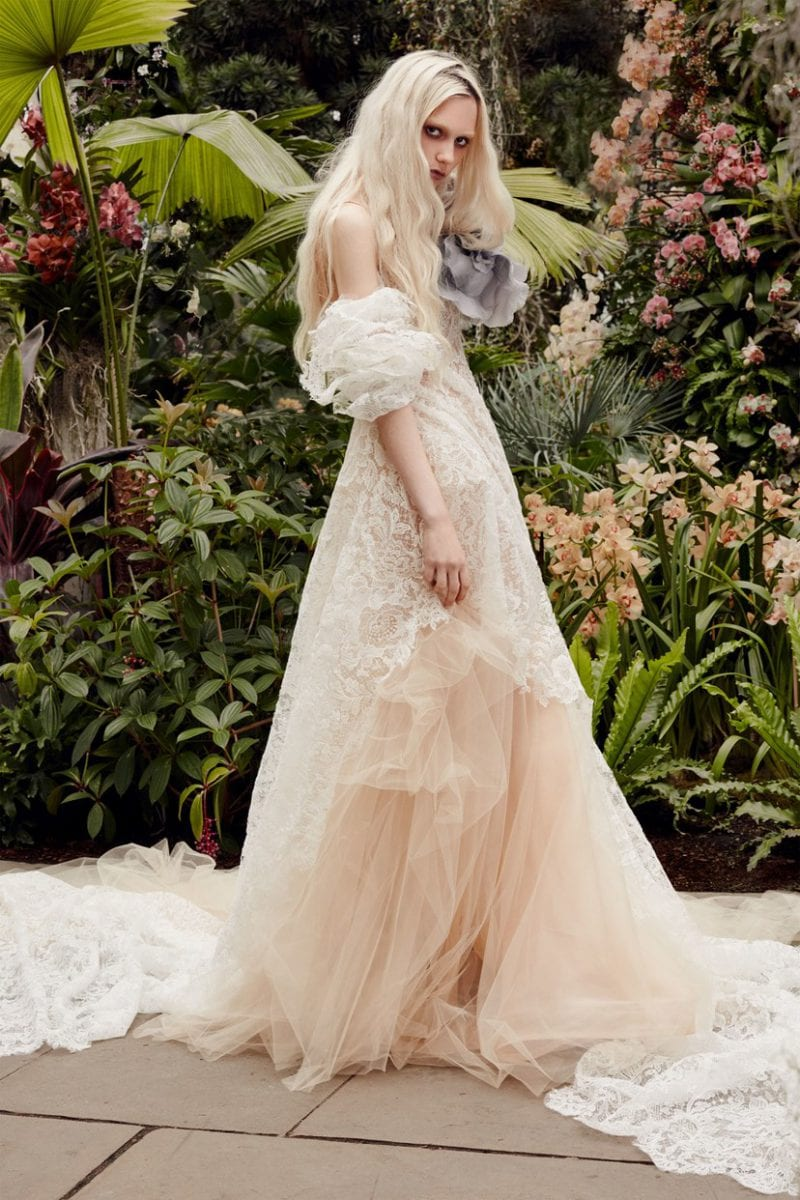 Vera Wang couture wedding dress